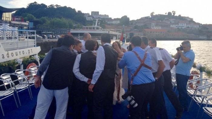 Jantar de casamento a Bordo - Barco de grande porte