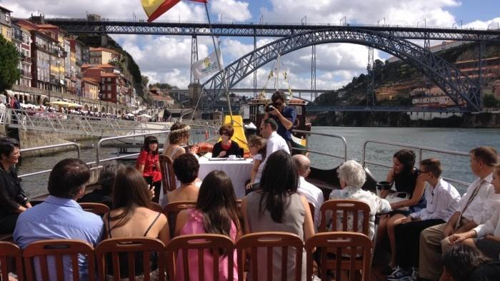 Casamento a Bordo - Barco Rabelo