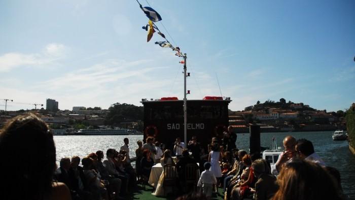 Celebração de casamento a Bordo - Barco Rabelo