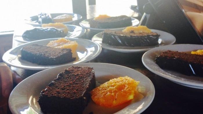 Cruzeiro com Almoço a Bordo - Bolo de chocolate