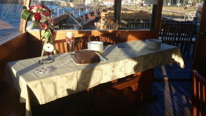 Cruzeiro com Jantar a Bordo - Mesa das sobremesas